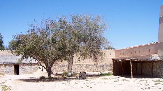 Форт. Внутренний двор