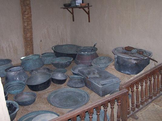 Форт. Кухня