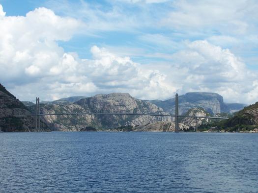 Lysefjorden bridge